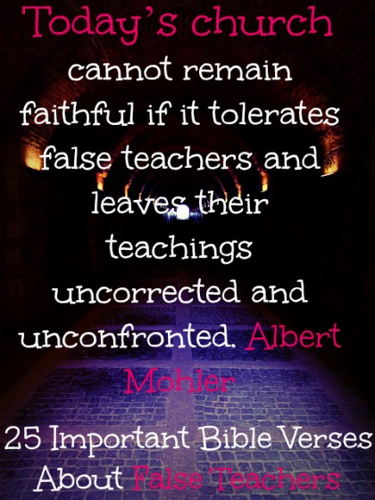 25 Important Bible Verses About False Teachers