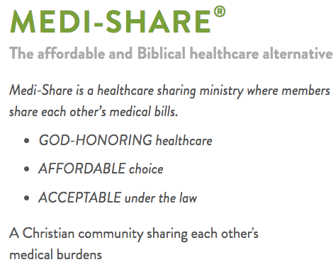 Affordable and Biblical healthcare alternative