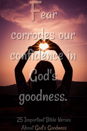 25 Important Bible Verses About Goodness of God