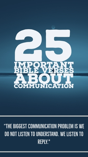 25 Important Bible Verses About Communication (Powerful Truths)